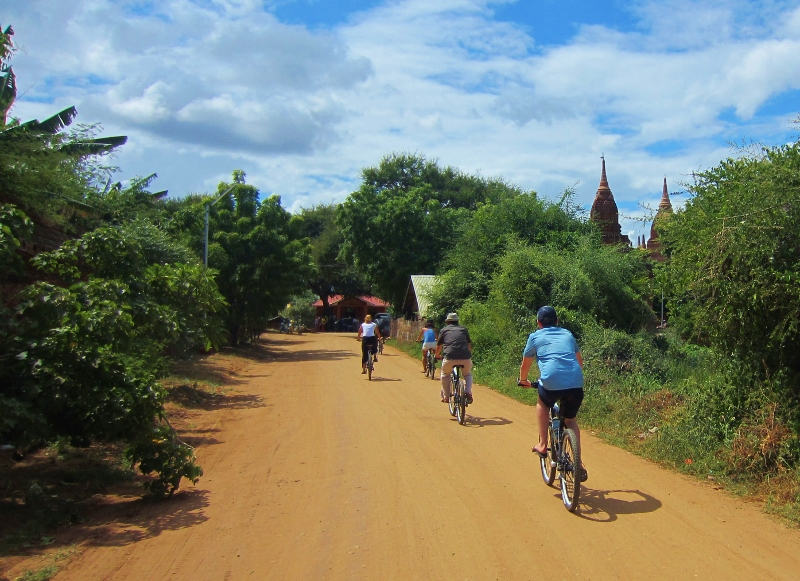 Myanmar cycling tours - burma bike tours and holidays