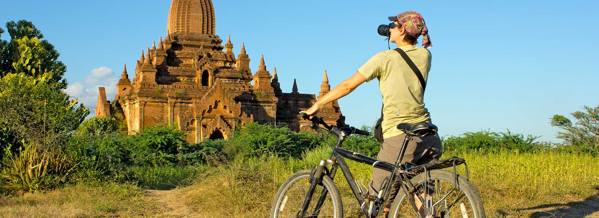 bagan cycling tour - myanmar cycling holidays - burma cycling